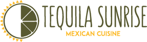 Tequila Sunrise Mexican Cuisine Logo